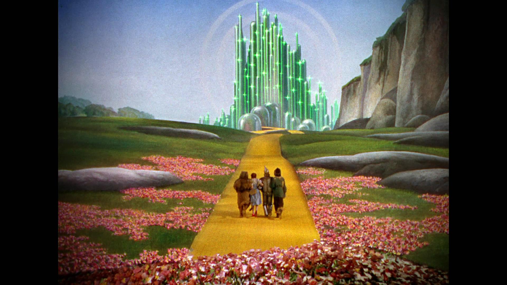 Green curtain oz - Wizardofoz5740
