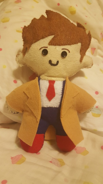10th Doctor Plushie